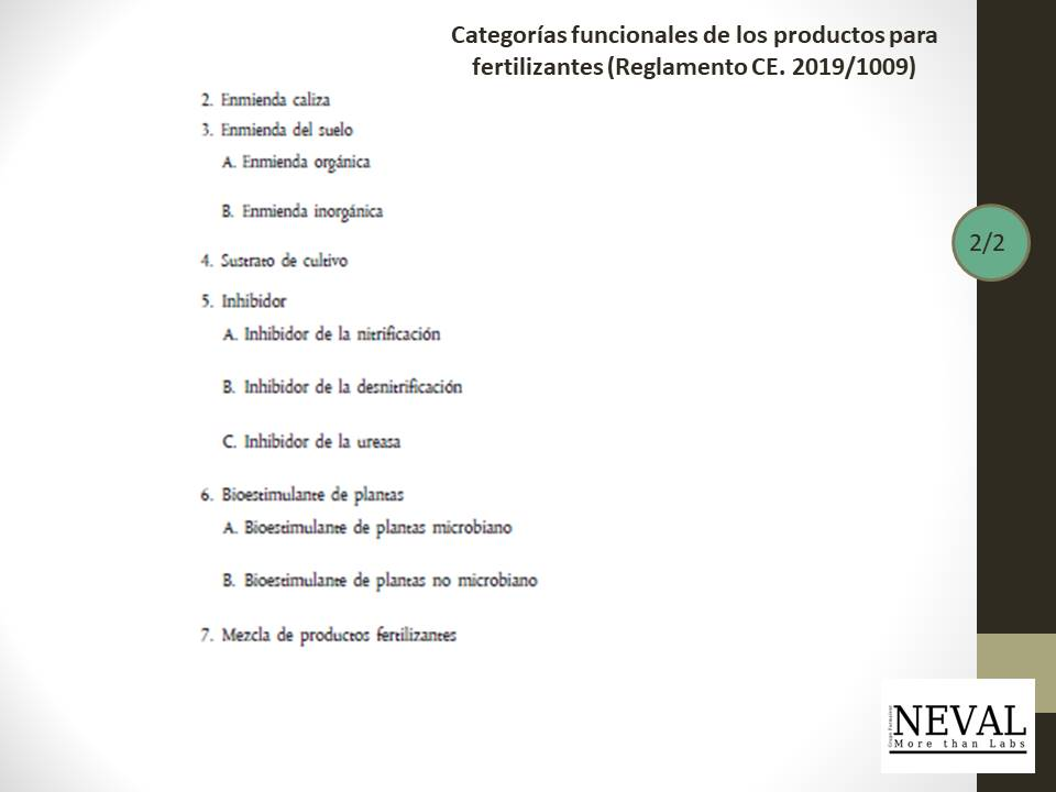 productos fertilizantes. parte 2